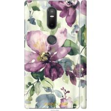 Чехол на Lenovo Phab 2 Plus Акварель цветы