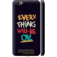 Чехол на Lenovo Vibe C A2020 Everything will be Ok
