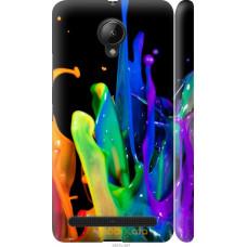Чехол на Lenovo Vibe C2 брызги краски