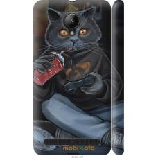 Чехол на Lenovo Vibe C2 gamer cat