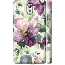 Чехол на Lenovo Vibe P1m Акварель цветы
