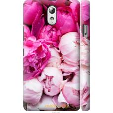 Чехол на Lenovo Vibe P1m Розовые цветы