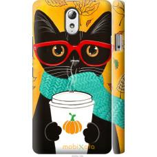 Чехол на Lenovo Vibe P1m Осенний кот