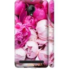 Чехол на Lenovo Vibe C2 Розовые цветы