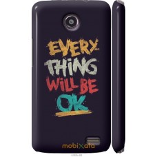 Чехол на Lenovo A820 Everything will be Ok