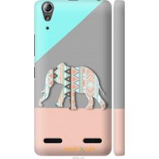 Чехол на Lenovo K3 (K30-t) Узорчатый слон