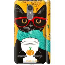 Чехол на Lenovo K6 Осенний кот