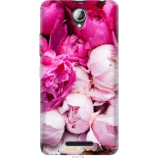 Чехол на Lenovo A5000 Розовые цветы