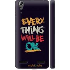 Чехол на Lenovo K3 (K30-t) Everything will be Ok