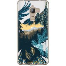 Чехол на LeTV Max X900 Арт-орел на фоне природы