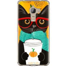 Чехол на LeTV Max X900 Осенний кот
