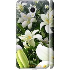 Чехол на Meizu MX6 Лилии белые