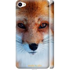 Чехол на Meizu U20 Рыжая лисица