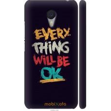 Чехол на Meizu M3 Note Everything will be Ok
