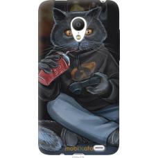 Чехол на Meizu MX3 gamer cat