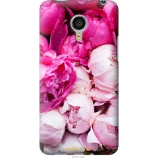 Чехол на Meizu MX4 PRO Розовые цветы