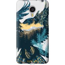 Чехол на Meizu MX4 PRO Арт-орел на фоне природы