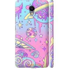 Чехол на Meizu M5 Note 'Розовый космос