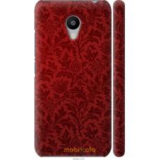 Чехол на Meizu M3s Чехол цвета бордо