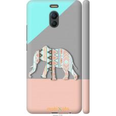 Чехол на Meizu M6 Note Узорчатый слон
