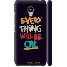 Чехол на Meizu M3s Everything will be Ok
