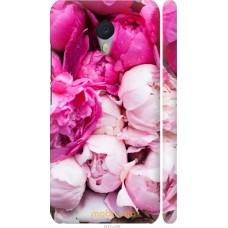 Чехол на Meizu M3 Note Розовые цветы