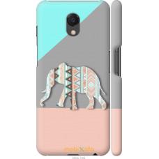 Чехол на Meizu M6s Узорчатый слон