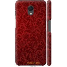 Чехол на Meizu M6s Чехол цвета бордо