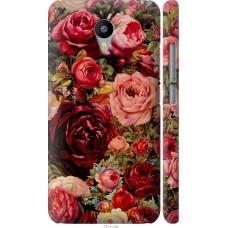 Чехол на Meizu M2 Note Прекрасные розы