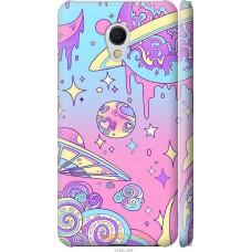 Чехол на Meizu MX6 'Розовый космос