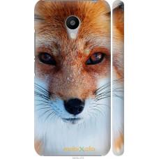 Чехол на Meizu M3s Рыжая лисица