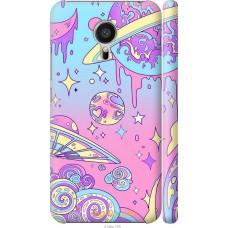 Чехол на Meizu MX5 'Розовый космос