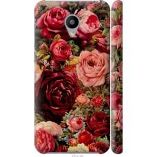 Чехол на Meizu M2 Прекрасные розы