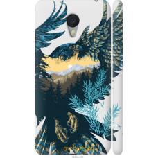 Чехол на Meizu M3 Note Арт-орел на фоне природы