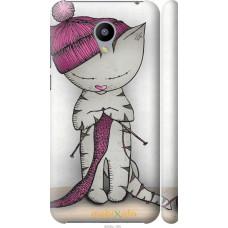 Чехол на Meizu M2 Кошка рукодельница