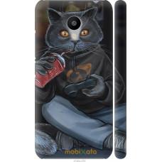 Чехол на Meizu M3 gamer cat