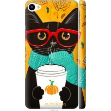 Чехол на Meizu U20 Осенний кот