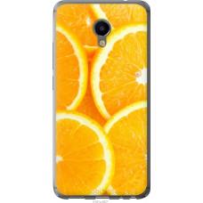 Чехол на Meizu M3e Апельсинки