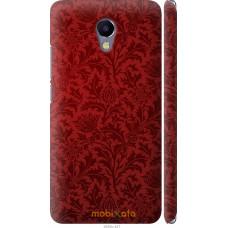 Чехол на Meizu M5 Note Чехол цвета бордо