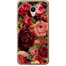 Чехол на Meizu M5 Прекрасные розы