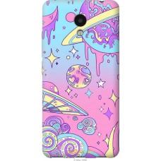 Чехол на Meizu M5c 'Розовый космос