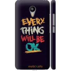 Чехол на Meizu M2 Note Everything will be Ok