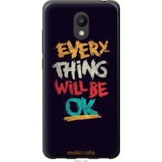 Чехол на Meizu M6 Everything will be Ok