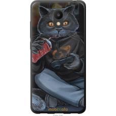 Чехол на Meizu M6 gamer cat
