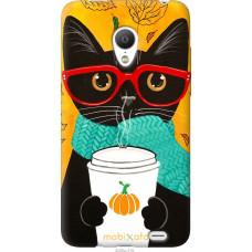 Чехол на Meizu MX3 Осенний кот
