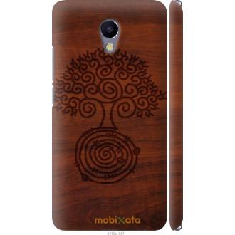 Чехол на Meizu M5 Note Узор дерева