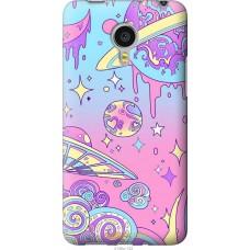 Чехол на Meizu MX4 PRO 'Розовый космос