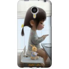 Чехол на Meizu MX4 PRO Милая девочка с зайчиком