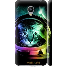 Чехол на Meizu M2 Кот космонавт