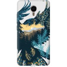 Чехол на Meizu Metal Арт-орел на фоне природы